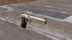 The AMT Hardballer semi-automatic pistol