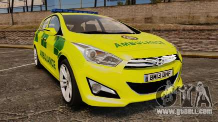 Hyundai i40 Tourer [ELS] London Ambulance for GTA 4