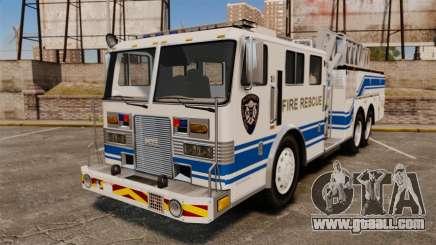 MTL Firetruck MDH1000 Midmount Ladder [ELS] for GTA 4