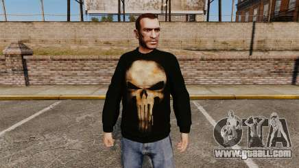 Sweater-The Punisher- for GTA 4