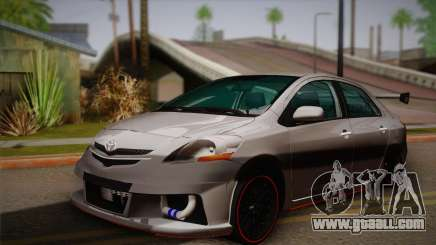 Toyota Vios Slalom Edition for GTA San Andreas