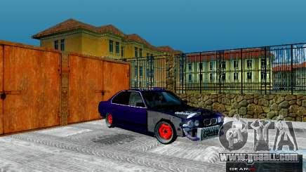 BMW 525i e34 Hobo for GTA San Andreas
