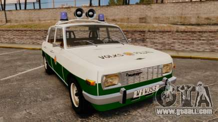 Wartburg 353 W Deluxe Polizei for GTA 4