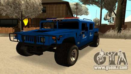 HUMMER H1 for GTA San Andreas