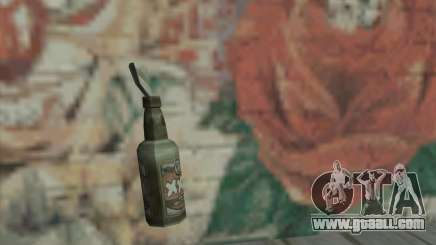 Molotov cocktail of Saints Row 2 for GTA San Andreas