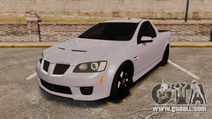 Pontiac G8 Sport Truck 2010 for GTA 4