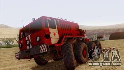 MAZ 535 Firefighter for GTA San Andreas