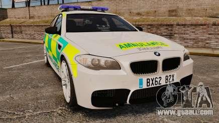 BMW M5 Ambulance [ELS] for GTA 4