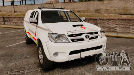 Toyota Hilux French Red Cross [ELS] for GTA 4
