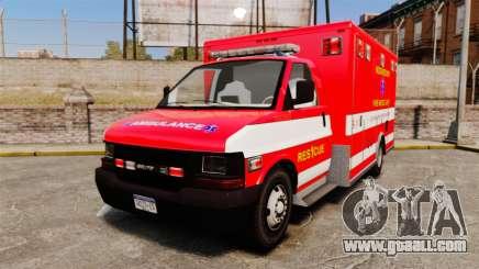 Brute Woonsocket Fire Medic Unit [ELS] for GTA 4