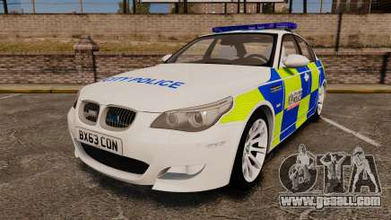 BMW M5 E60 City Of London Police [ELS] for GTA 4