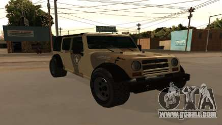 Crusader GTA 5 for GTA San Andreas