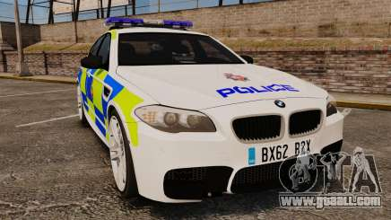 BMW M5 Greater Manchester Police [ELS] for GTA 4