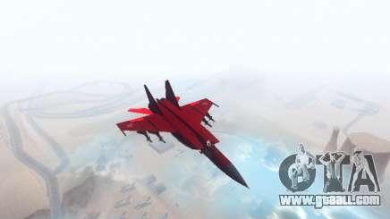 MiG 25 for GTA San Andreas
