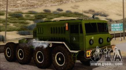 MAZ 535 New for GTA San Andreas