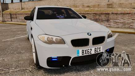 BMW M5 Unmarked Police [ELS] for GTA 4