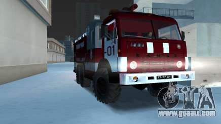 KAMAZ 43101 Firefighter for GTA Vice City