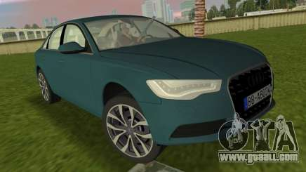 Audi A6 2012 for GTA Vice City