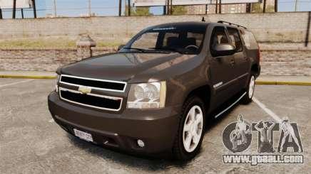 Chevrolet Suburban Slicktop 2008 [ELS] for GTA 4
