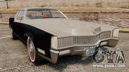 Cadillac Eldorado Coupe 1969 for GTA 4