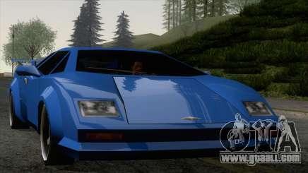 Infernus 80s for GTA San Andreas