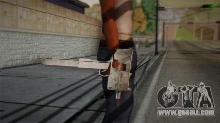 Uzi of Max Payne for GTA San Andreas
