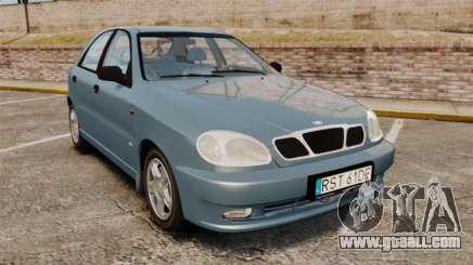 Daewoo Lanos 1997 PL for GTA 4