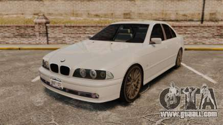 BMW 525i (E39) for GTA 4