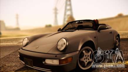 Porsche 911 Speedster Carrera 2 1992 for GTA San Andreas