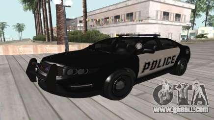 GTA V Police Cruiser for GTA San Andreas