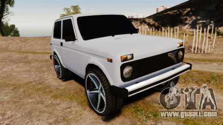Vaz-21213 Niva LT for GTA 4