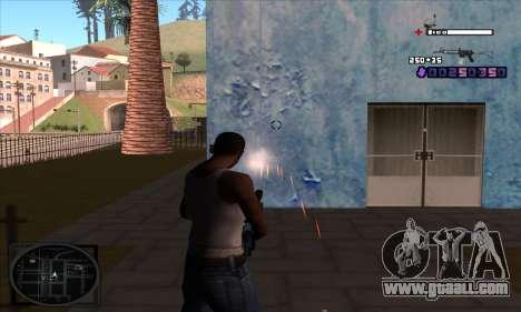 C-HUD Belenky for GTA San Andreas third screenshot