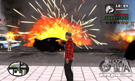 Slow Motion for GTA San Andreas