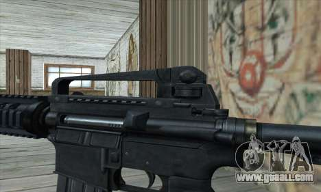 M4 RIS Carbine for GTA San Andreas third screenshot