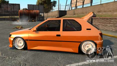 Peugeot 306 [RC] Unal Turan for GTA 4 left view