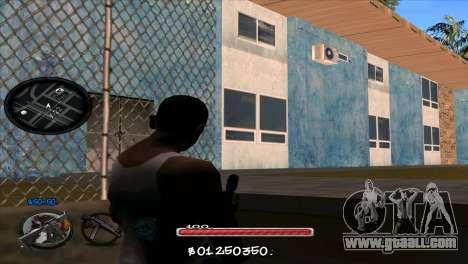 C-HUD by Jayson Wallace for GTA San Andreas second screenshot