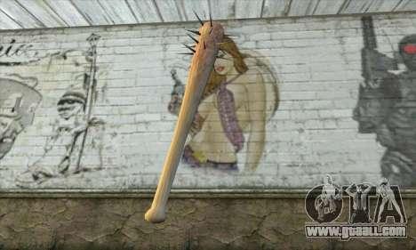 A spiked bat for GTA San Andreas second screenshot