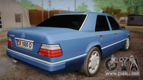 Mercedes-Benz E320 W124 for GTA San Andreas left view