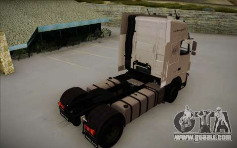 Volvo FH12 for GTA San Andreas left view