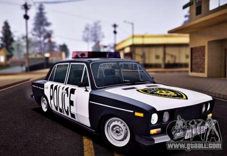 VAZ 2106 Police for GTA San Andreas