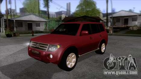 Mitsubishii Pajero IV for GTA San Andreas