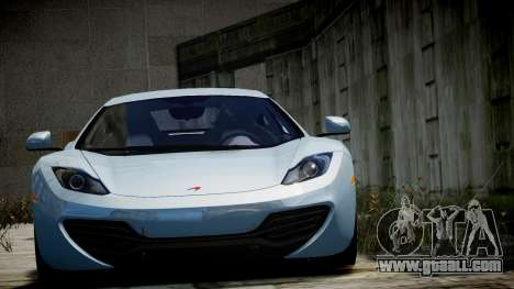 McLaren MP4-12C for GTA 4