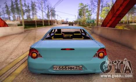 Volga Siber 2.5 AT Restyling for GTA San Andreas right view