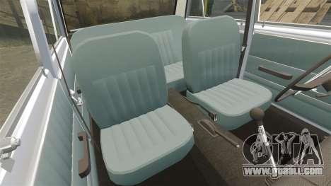 VAZ-Lada 2101 USSR for GTA 4 bottom view