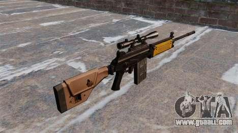 IMI Galil assault rifle for GTA 4 second screenshot