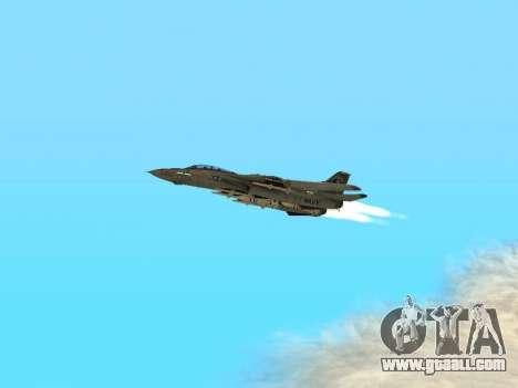 F-14 LQ for GTA San Andreas inner view