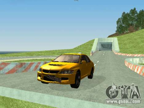 Mitsubishi Lancer  Evolution for GTA San Andreas left view