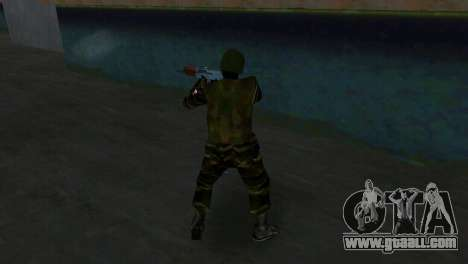 Fighter Alfa Antiterror for GTA Vice City forth screenshot