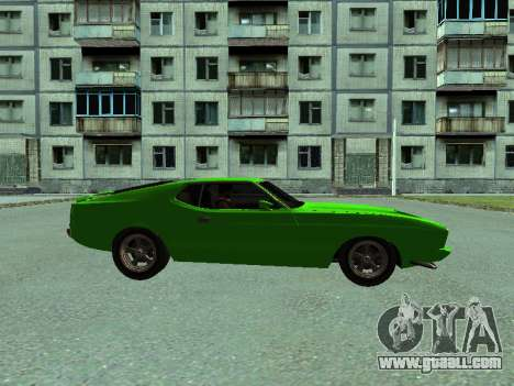 Ford Mustang for GTA San Andreas back left view