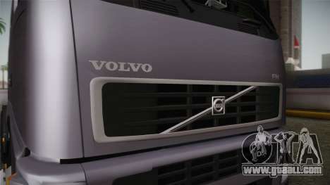 Volvo FH13 500 for GTA San Andreas inner view